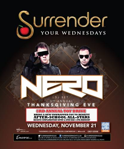 Nero @ Surrender Nightclub