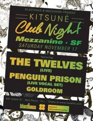 The Twelves (Live) @ Mezzanine