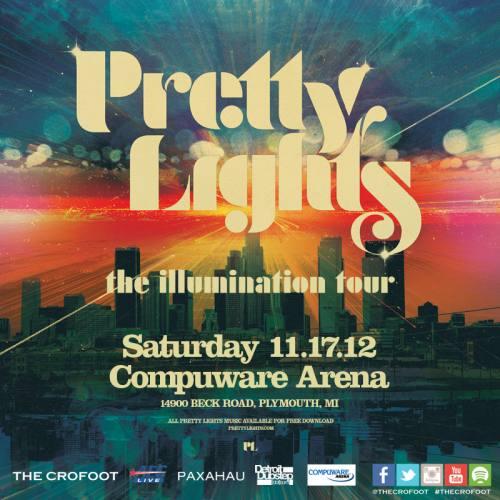 Pretty Lights @ Compuware Arena Detroit