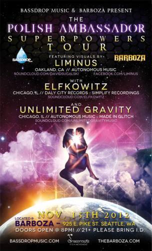 SUPERPOWERS TOUR feat. The Polish Ambassador & Liminus