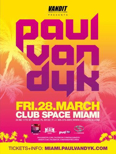 Paul van Dyk @ Space (03-28-2014)