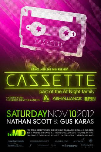 11.10 Cazzette at The Mid