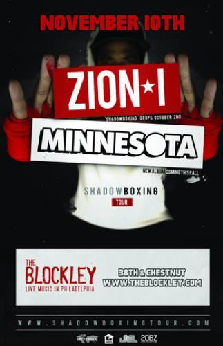 Zion I & Minnesota @ The Blockley