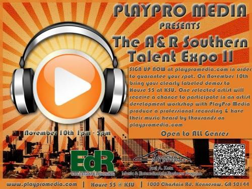 Play Pro Media A+R Expo (for artists)