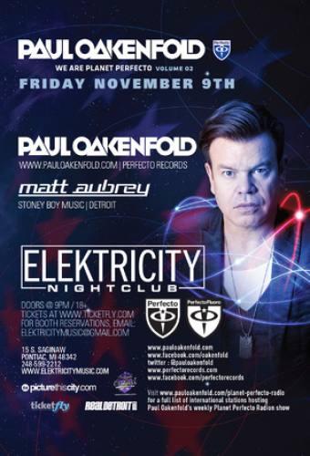 Paul Oakenfold @ Elektricity (11-09-2012)