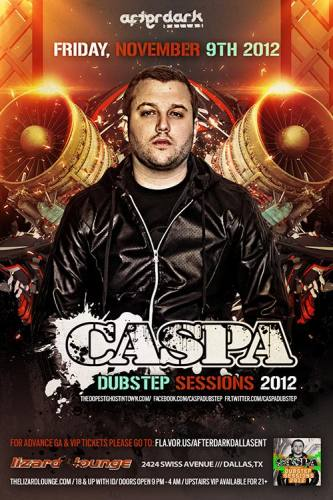 Caspa @ The Lizard Lounge (11-09-2012)