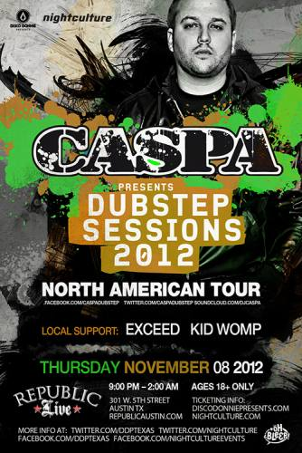Caspa @ Republic Live