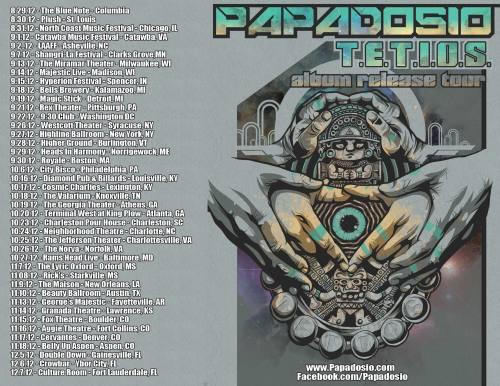 Papadosio @ Rick's (11/8/12)