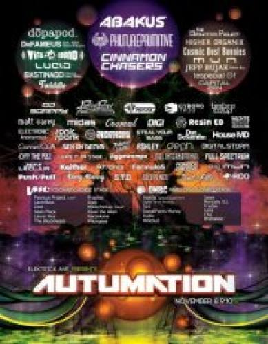 Autumation: 3 Day Music and Arts Festival