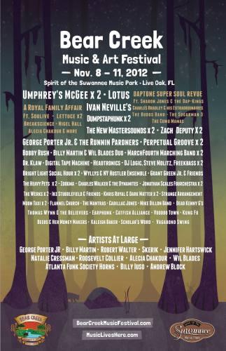 Bear Creek Music & Art Festival