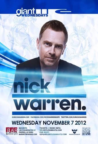Nick Warren @ Bar Smith