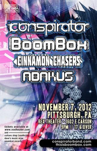 Conspirator & BoomBox @ Rex Theater