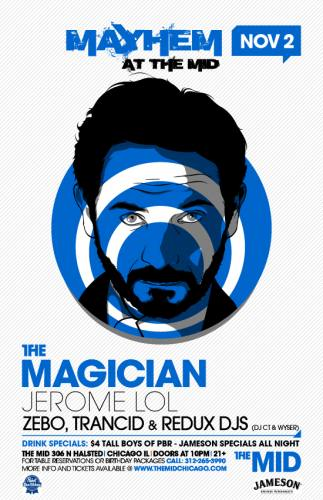 11.2 THE MAGICIAN - JEROME LOL - ZEBO - REDUX DJS