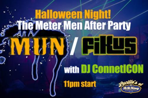 Halloween Late Night featuring Mun/ FiKus & DJ ConnetICON