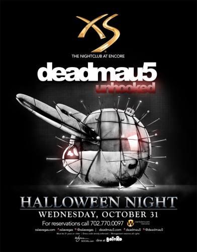 deadmau5 @ XS Las Vegas (10-31-2012)