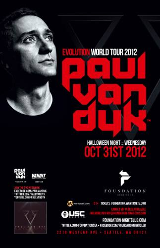 Paul van Dyk @ Foundation Nightclub- Halloween Event