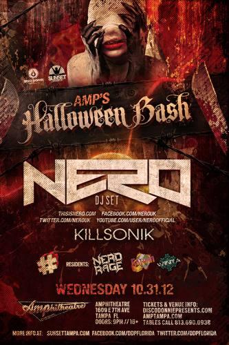 Halloween Bash w/ Nero (DJ) @ Amphitheatre Event Facility