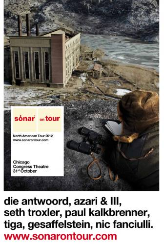 SONAR TOUR - DIE ANTWOORD - MANY MORE