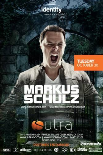 Markus Schulz @ Sutra (10-30-2012)