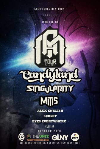 Candyland, Singularity & Mitis @ Club 39