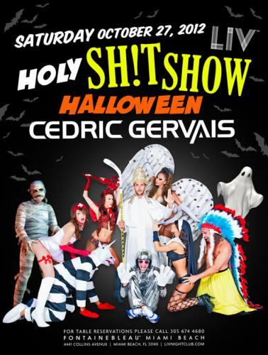 Cedric Gervais @ LIV (10-27-2012)