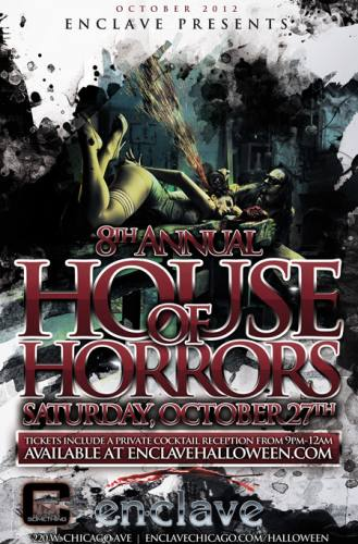 8th ANNUAL HOUSE OF HORRORS