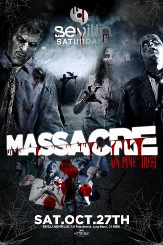 Massacre on Pine St at Cafe Sevilla Saturday, 27 October 2012