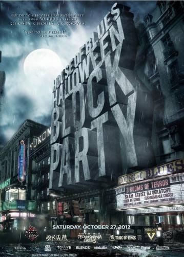 HOB Halloween Block Party at House of Blues Saturday, 27 October 2012