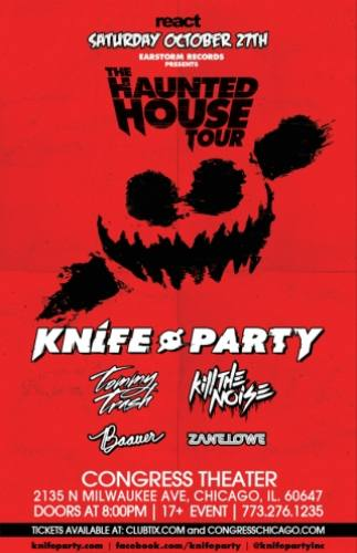 Knife Party & more @ Congress Theater