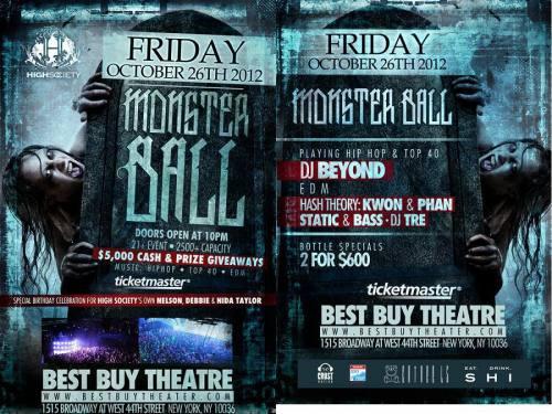 Limitless Music presents Halloween Monster Ball w/ Static & Bass