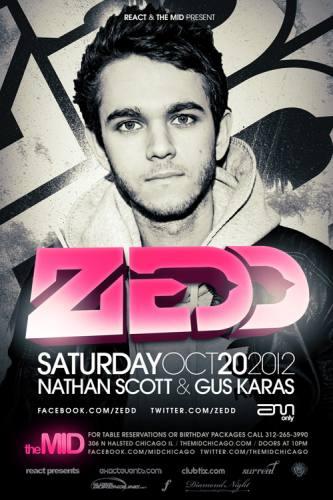 Zedd at The Mid