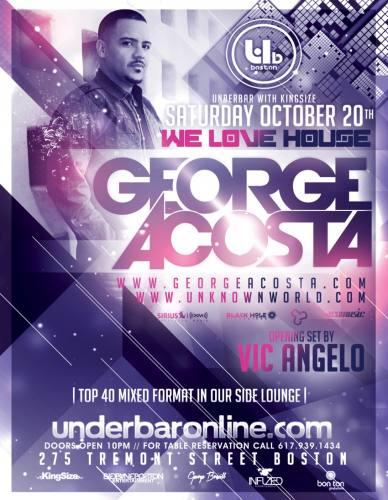 George Acosta @ Underbar