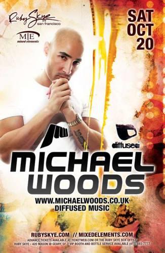 Michael Woods @ Ruby Skye