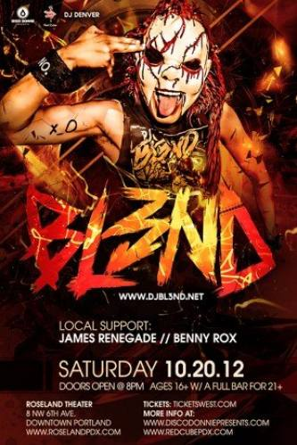 DJ BL3ND @ Roseland Theater