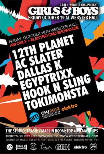 12th Planet, AC Slater & more @ Webster Hall