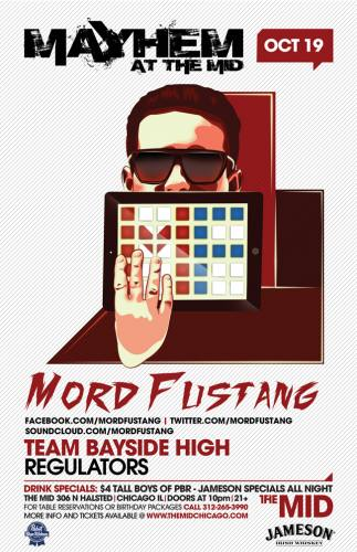 10.19 Mord Fustang- Team Bayside High- Regulators