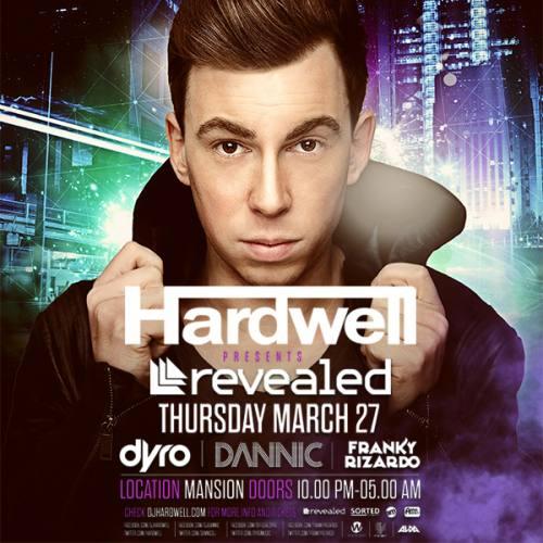 Hardwell presents Revealed @ Mansion