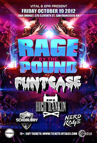 Funtcase, High Rankin & more @ DNA Lounge