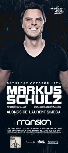 Markus Schulz @ Mansion (10-13-2012)