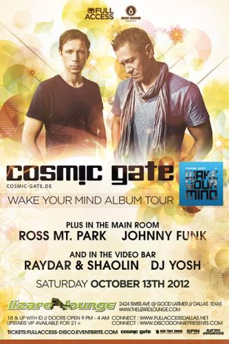 Cosmic Gate @ Lizard Lounge (10-13-2012)
