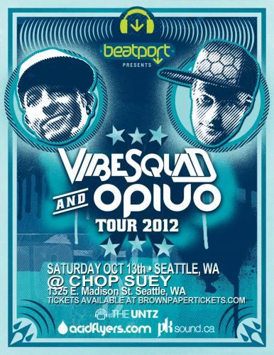 VibeSquaD & OPIUO ON TOUR