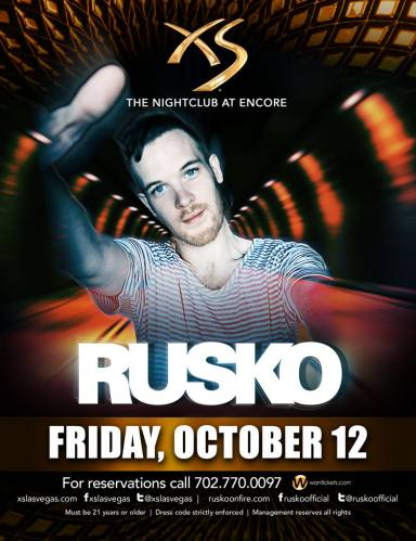 Rusko @ XS Las Vegas (10-12-2012)