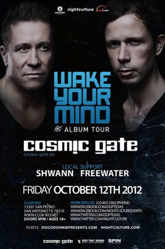 Cosmic Gate @ Club Rio (10-12-2012)