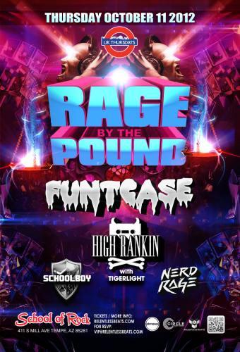 Funtcase & High Rankin @ School of Rock