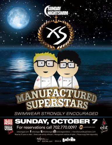 Manufactured Superstars @ XS Las Vegas (10-07-2012)