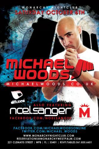 Michael Woods @ Monarchy Nightclub