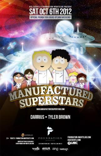 Manufactured Superstars @ Foundation