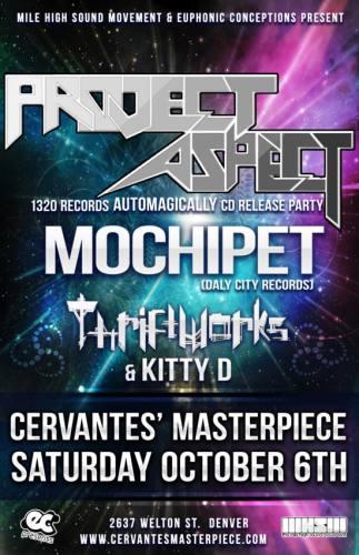 Project Aspect & Mochipet @ Cervantes