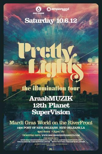 Pretty Lights @ Mardi Gras World