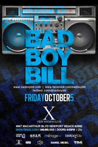 Bad Boy Bill @ Ten Nightclub